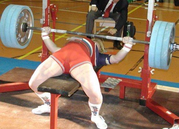 bench press world record women s selkäkipu ja kinesioteippaus